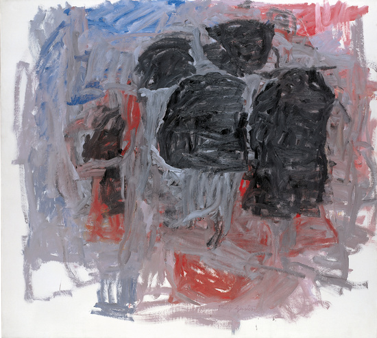 Philip Guston, Untitled, 1962, oil on canvas, 66 x 73 inches (Kunstmuseum Winter