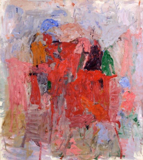 Philip Guston, The Mirror, 1957 (Private Collection)