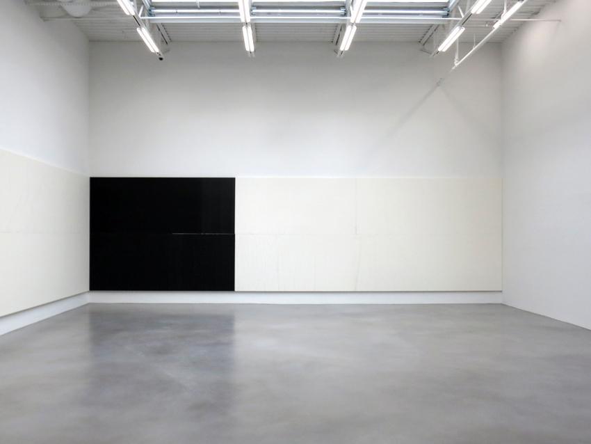 Installation View: Wade Guyton at Petzel Gallery, New York, 2014