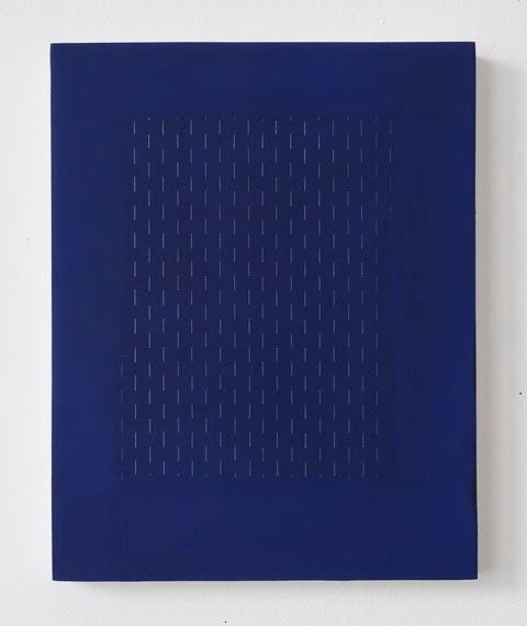 Alison Hall, Brooklyn Nocturne XII, Ghazal, 2015, 9 1/2 x 7 1/2 inches, oil, gra