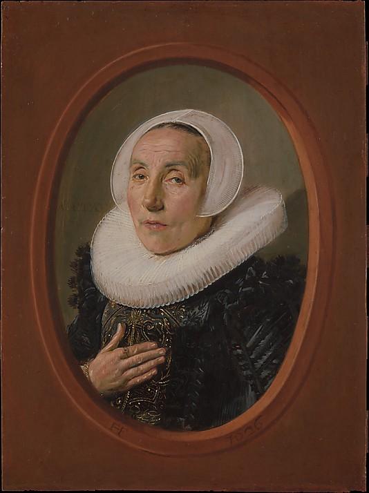 Frans Hals, Anna van der Aar, oil on wood, 1626 (Metropolitan Museum of Art)