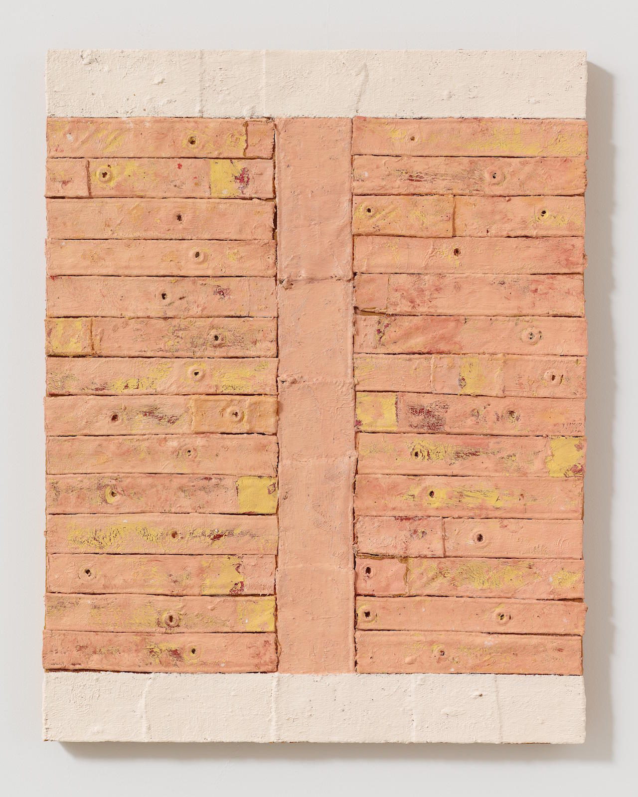 Harmony Hammond, Klee, 2015, oil and mixed media on canvas, 36.25 x 28.25 inches