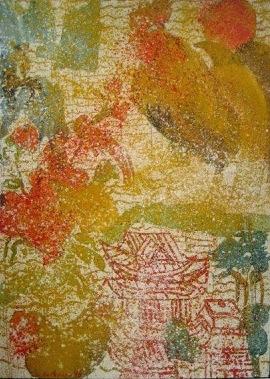 Grace Hartigan, Chinese Calendar, 1993, oil on linen (courtesy C. Grimaldis Gall