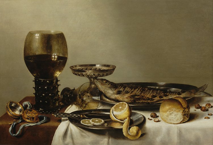 Willem Heda, Still Life with a Roemer and Watch, 1629 (courtesy of the Royal Pic