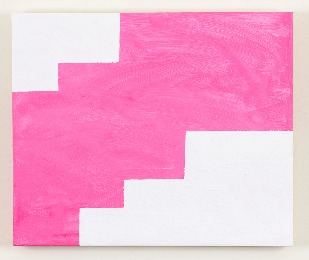 Mary Heilmann, Rose Wave, 2013, oil on canvas, 20 x 24 inches (courtesy of 303 G