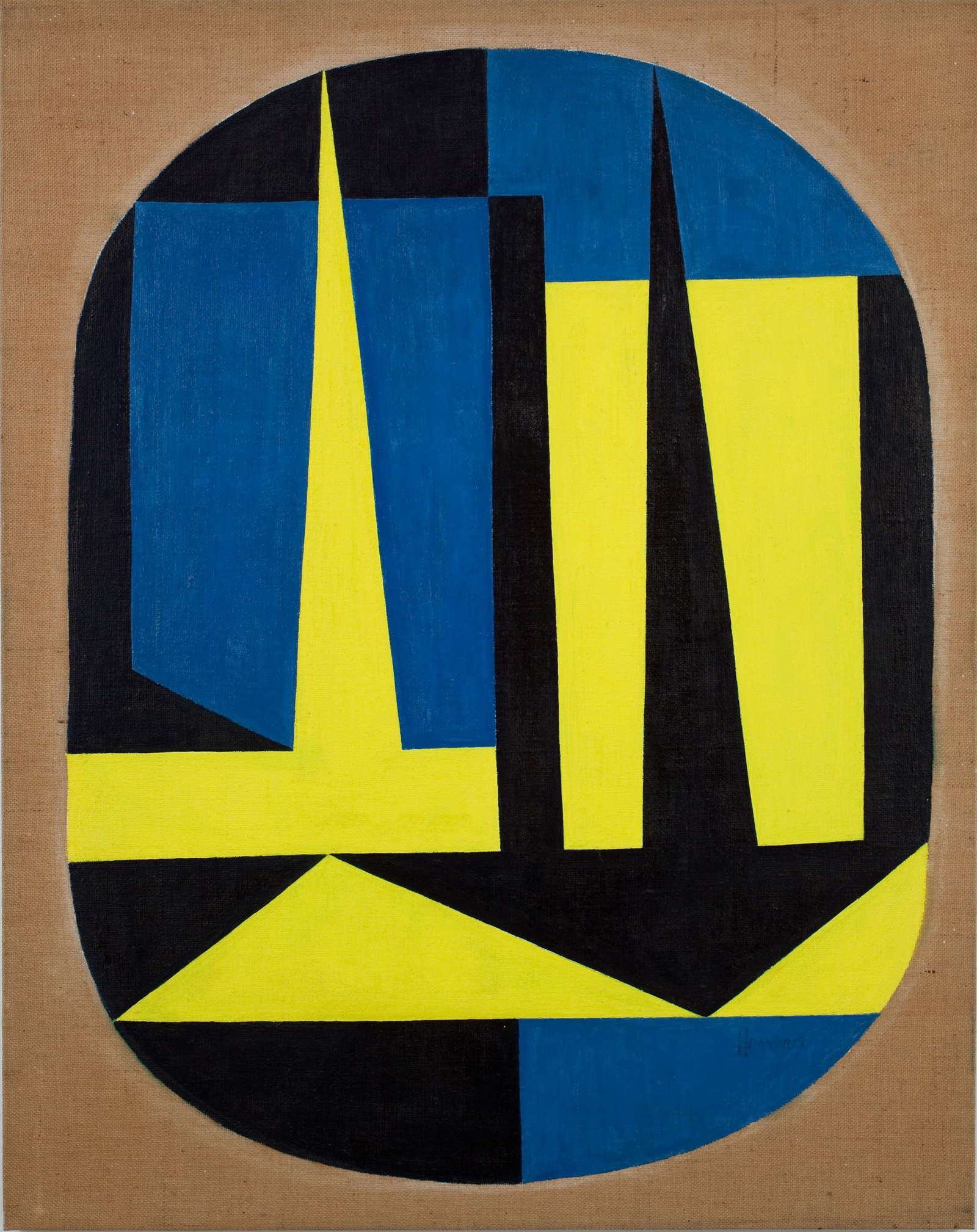 Carmen Herrera: A City, 1948 (Private Collection)