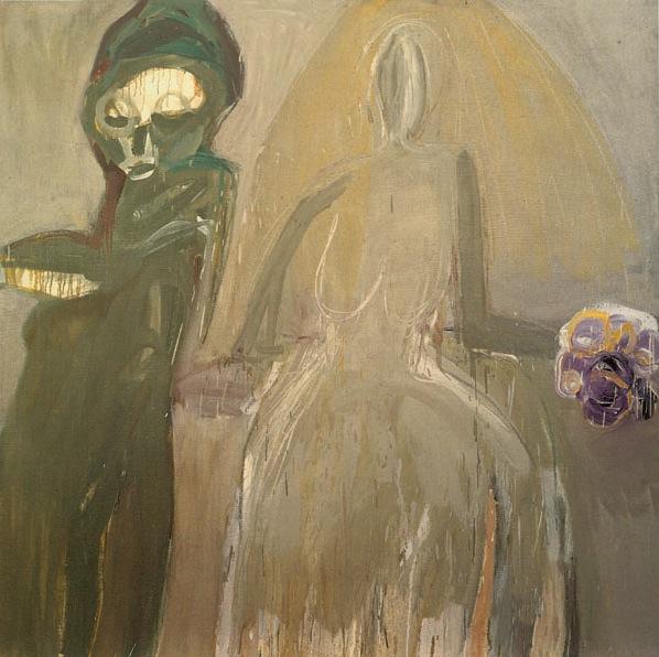 Eva Hesse, No title, 1960, Ursula Hauser Collection, Switzerland