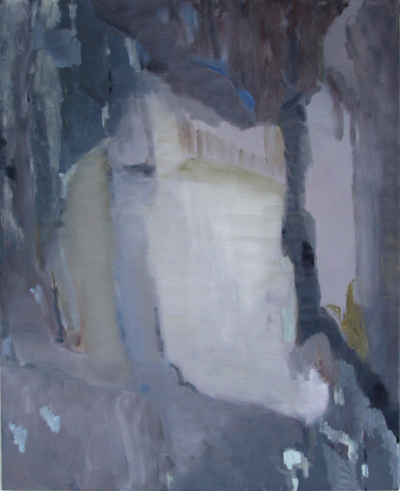 An Hoang, On a Dark Night, 2014, oil on canvas, 50 x 40 inches (courtesy of the