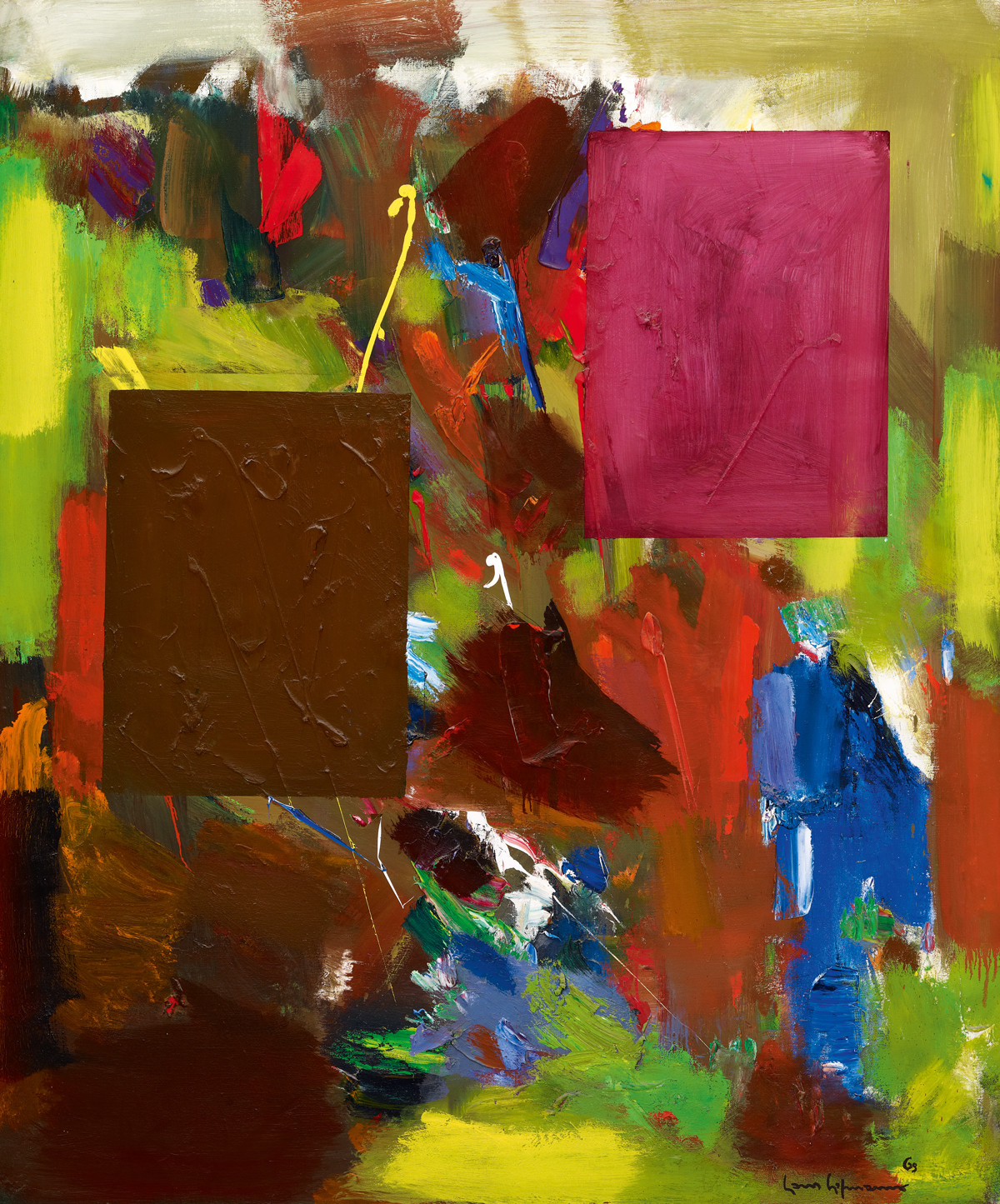 Hans Hofmann, In Sober Ecstasy, 1965 (Private collection/© ARS, NY and DACS, London 2016)