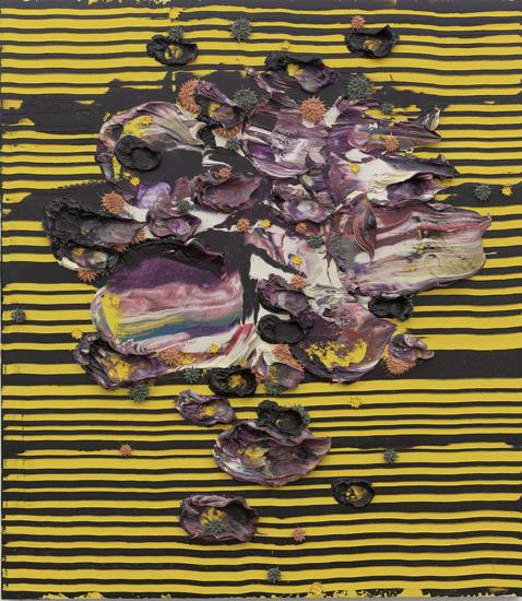 Dennis Hollingsworth, Leonids, 2009, oil on canvas, 122.0 x 106.8 cm (© Dennis H
