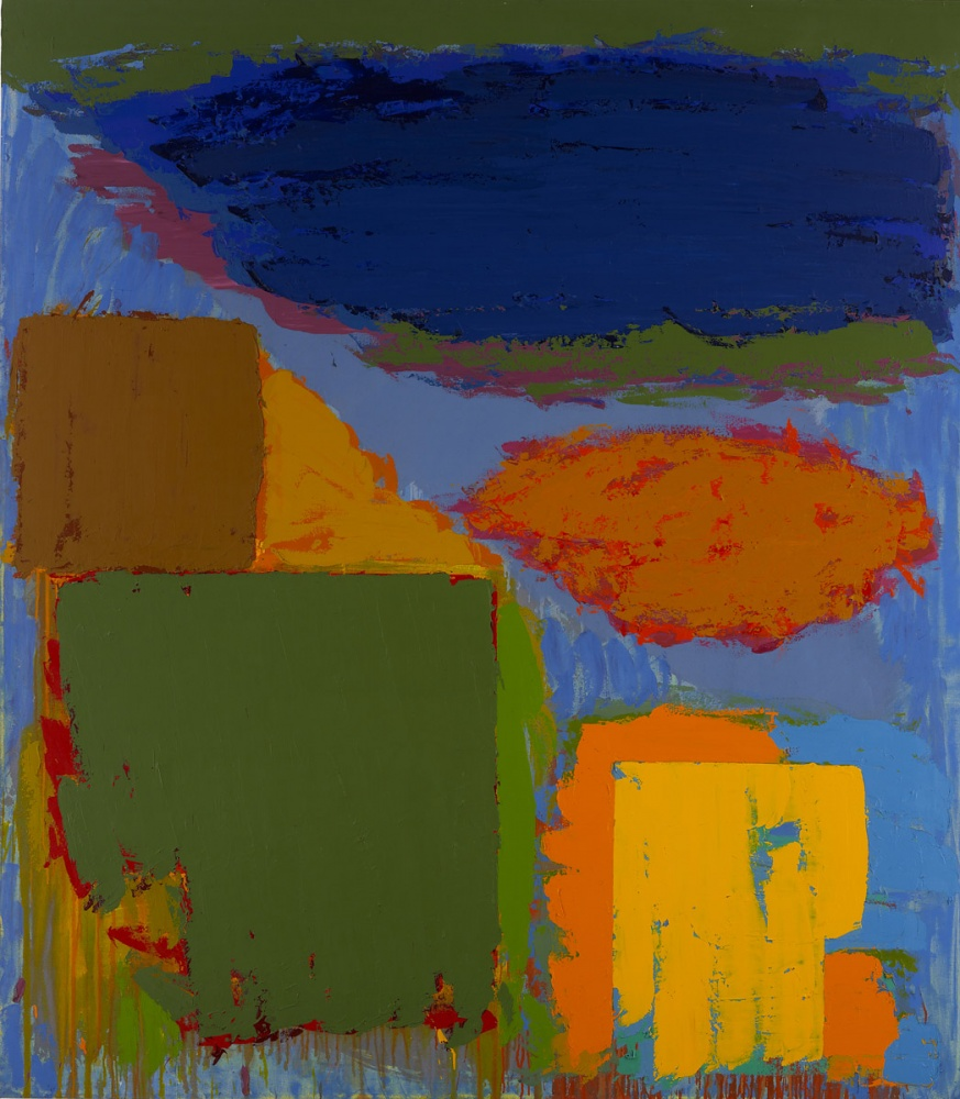 John Hoyland, Longspeak 18.4.79 (© The John Hoyland Estate)
