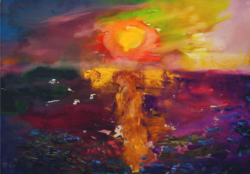 Darryl Hughto, Lake Champlain, 57.5 x 82, 2005 (courtesy of the artist)