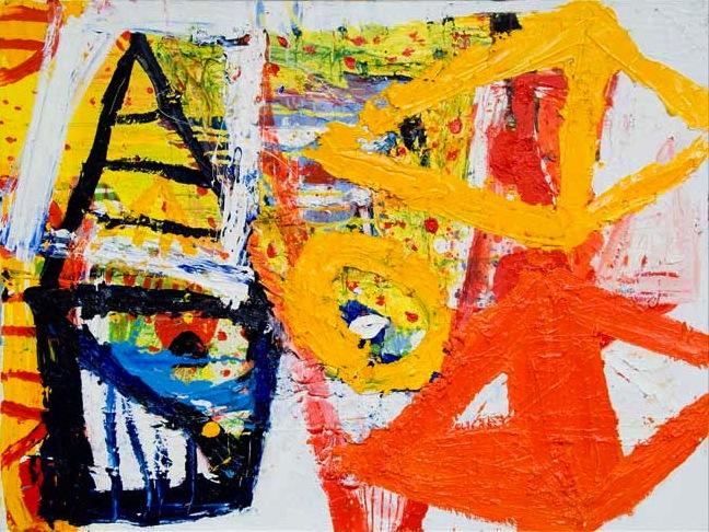 Iain Robertson, Mexican Toy Box, oil on canvas, 2008 91 x 122 cm (courtesy 108 F