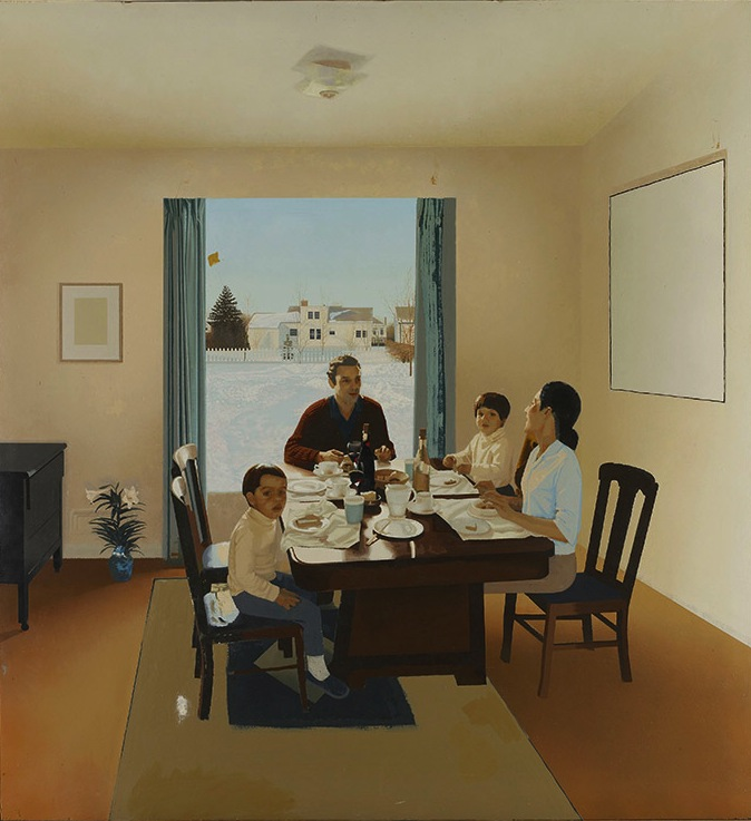 Jack Chambers, Lunch, unfinished, begun 1970 (Courtesy of the Estate of Jack Cha