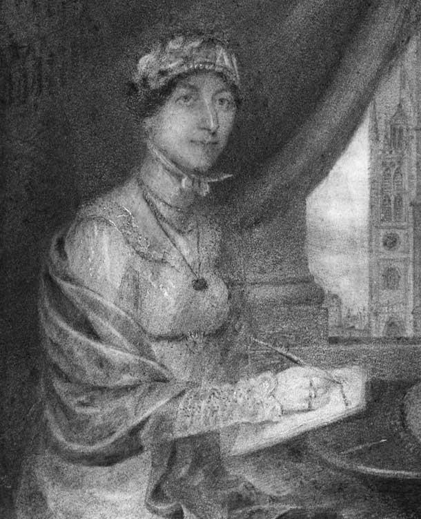 Portrait of Jane Austen, 1815