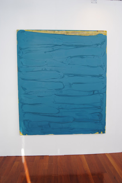 Painting by Robert Janitz at NADA Miami Beach (courtesy of Clearing Gallery)
