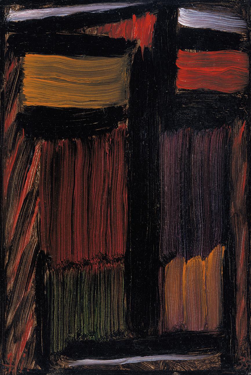 Alexei Jawlensky, Meditation: My Spirit Will Live On, 1935, oil on cardboard (Museum Wiesbaden © 2016 Artists Rights Society (ARS), New York for Alexei Jawlensky)
