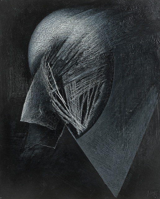 Jay DeFeo, Reflections of Africa, 1987, graphite, oil pastel on paper, 13.75 x 1