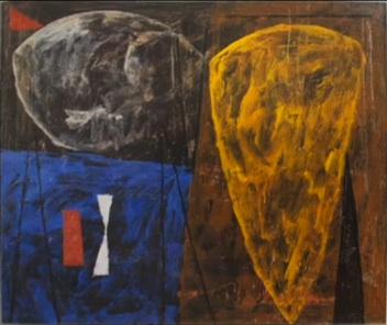 Joe Stefanelli, Untitled, 1951, exhibited in the 9th Street Show