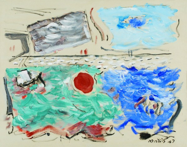 John Marin, Movement: Sea...  © Estate of John Marin / Artists Rights Society (A