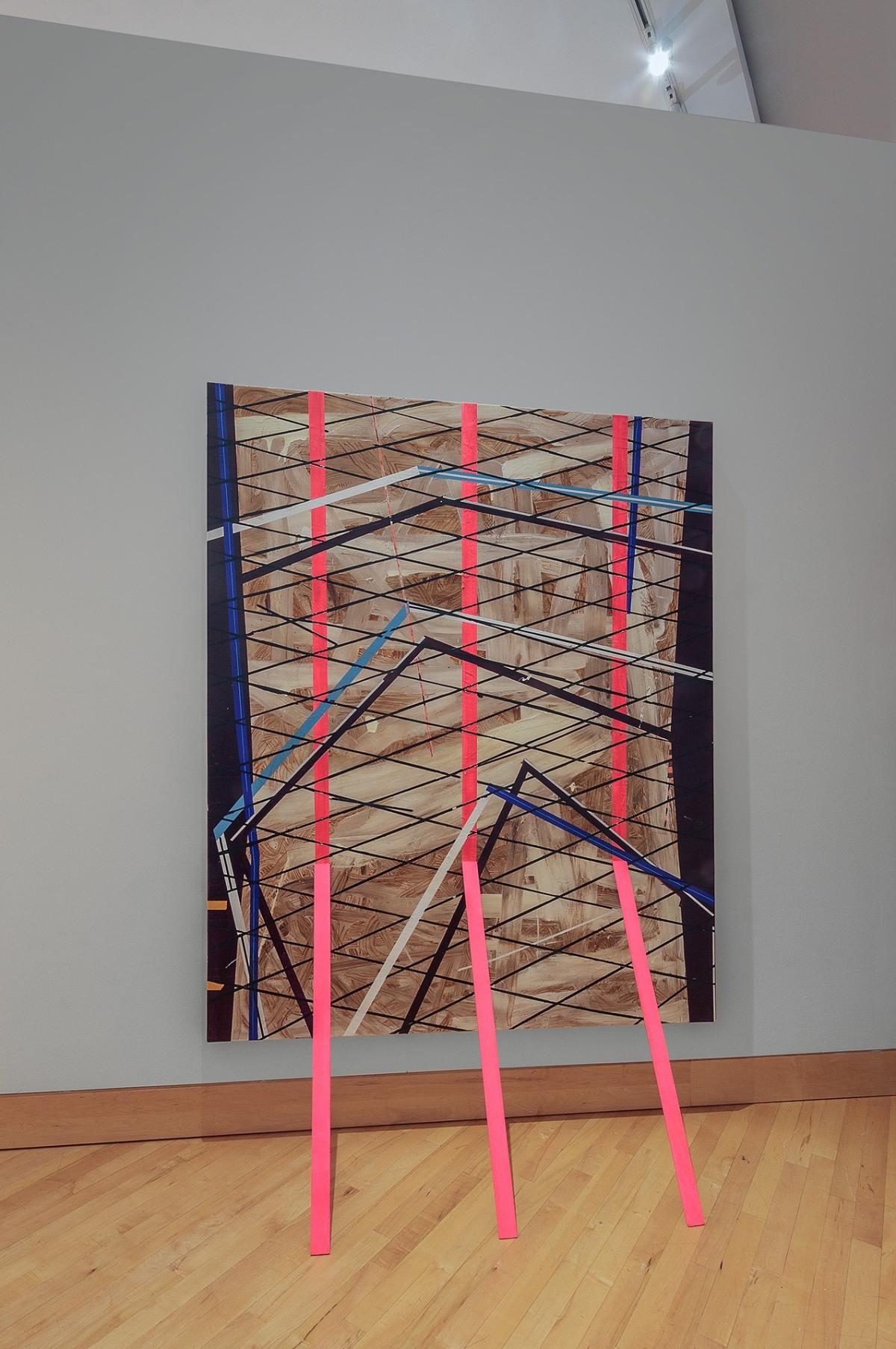 Installation view, Kelley Johnson, Greenlease Gallery, Rockhurst University Kans