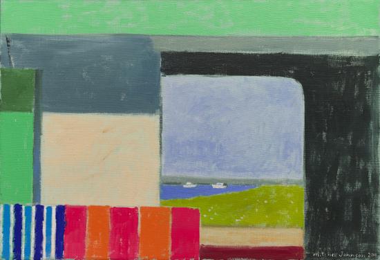 Mitchell Johnson, Mitchell Johnson, Truro Doorway, 15 x 22 inches, oil on linen