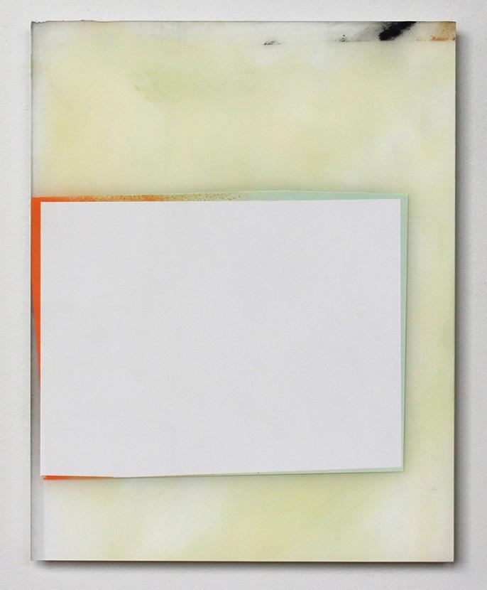 Jeffrey Cortland Jones, World, 14 x 11 inches, enamel on acrylic panel, 2013 (co