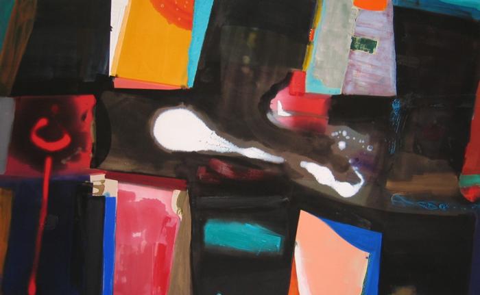 Patrick Jones, Azura, acrylic on canvas, 7 x 9 ft, 2010 (courtesy of the artist)