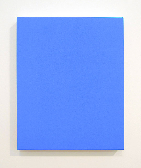 Joshua Smith Untitled, 2012, acrylic on canvas, 20 x 16 inches (courtesy of Shoo
