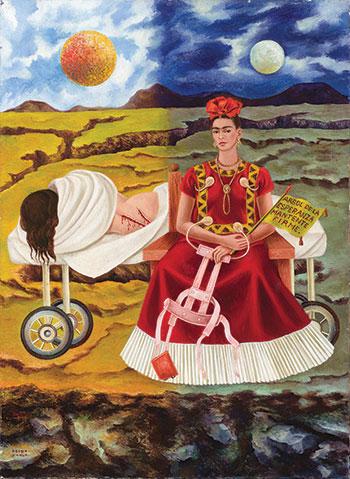 Frida Kahlo, Arbol de la Esperanza (Tree of Hope), 1946 (Photo: Nathan Keay, ©20