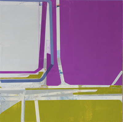 Suzanne Kammin, Many Happy Returns, 2013, oil on panel, 36 x 36 inches (courtesy