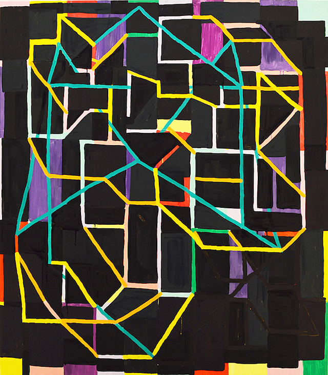 Jason Karolak, Untitled (P-1423), 2014, oil on canvas, 57 x 50 inches (courtesy