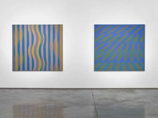 Installation view of Michael Kidner: Dreams of the World Order: Early Paintings