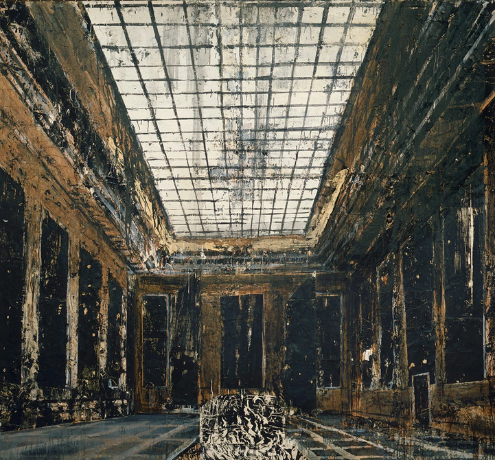Anselm Kiefer, Interior, 1981 (collection Stedelijk Museum, Amsterdam © Anselm K
