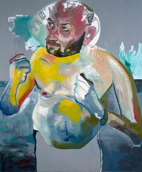 Martin Kippenberger Ohne Titel, 1992 Öl auf Leinwand, 180 x 150 cm (Friedrich Ch