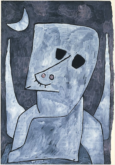 Paul Klee, Angel Applicant, 1939, Gouache, ink, and graphite on paper, 19-1/4 x