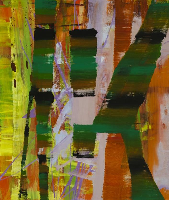 Julian Kreimer, SPK, oil on canvas, 40 x 30 inches
