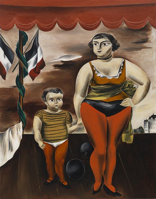 Yasuo Kuniyoshi, Strong Woman with Child, 1925, oil on canvas, 57 1.4 x 44 7/8 i