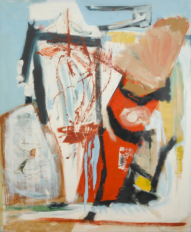 Peter Lanyon, Saracinesco, 1961 (© Lanyon Estate/Modern Art Press 2018)