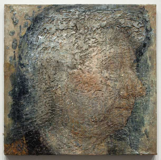 John Lees, Mater 1979-2012, oil on canvas, 20 x 20 inches (courtesy of the Betty