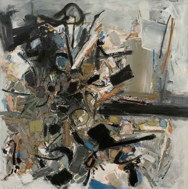 John Levee, September III, 1957 (courtesy Galerie 53)