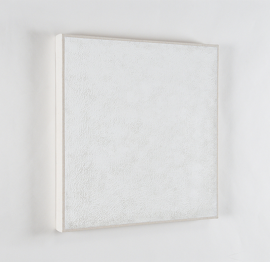 Daniel Levine, Untitled #3, 2009-2012, oil on cotton, 13 7/8 x 13 3/4 inches (co