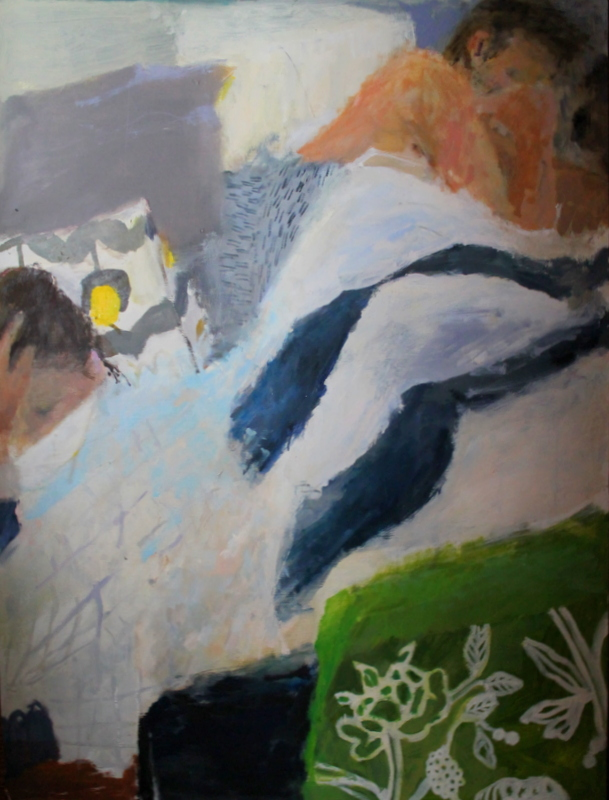 Aubrey Levinthal, Morning Stirring, 2012, oil on panel, 36 x 48 (courtesy of the