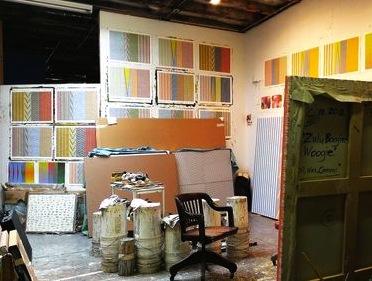 James Little, Studio View (photo: James Panero)