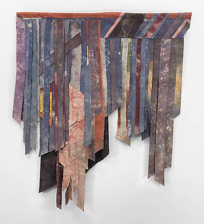 Al Loving, Untitled, c. 1975, mixed media,94 x 84 inches (courtesy of Gary Snyde