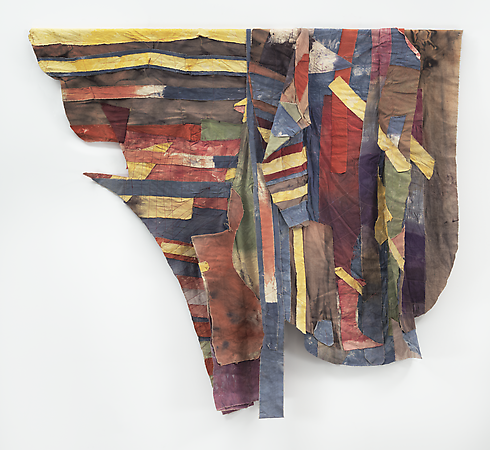 Al Loving, Untitled, c. 1975, mixed media, 66 x 74 inches (courtesy of Gary Snyd