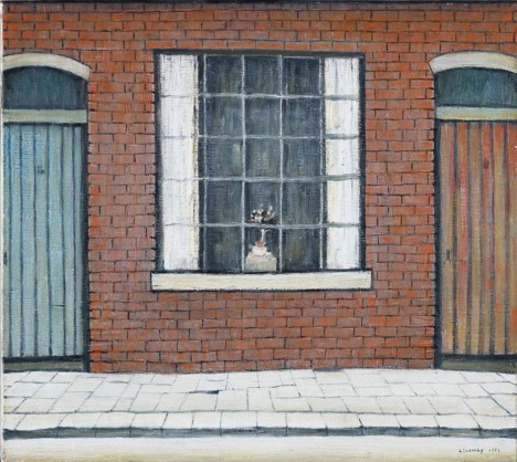 L.S. Lowry  Flowers in a Window, 1956, The Lowry Collection, Salford  (© The est