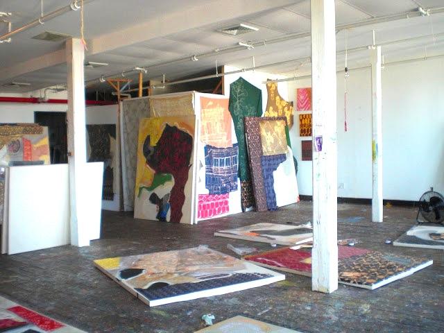Lauren Luloff, Studio View (photo: Maria Calandra)