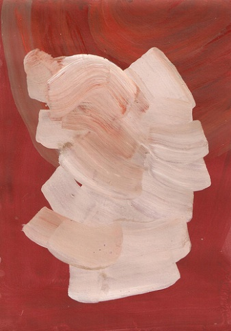 Rachael Macarthur, Tabula Rasa, 2013, acrylic on paper (courtesy of the artist)
