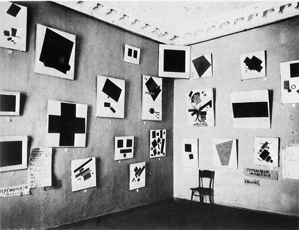Kasimir Malevich, Last Futurist Exhibition of Paintings 0.10, Dobychina Art Bure